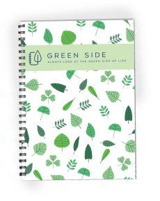 Green side duurzaam notitieboek